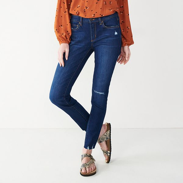 .24 Women's Sonoma Goods For Life® Supersoft Stretch Midrise Skinny Jeans at Kohl's!