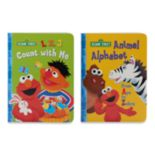 "Kohl's Cares® Sesame Street ""1, 2, 3 Count with Me"" & ""Animal Alphabet"" Book 2-piece Set"