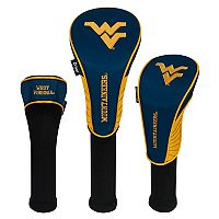 Team Effort West Virginia Mountaineers 3-Piece Club Head Cover Set