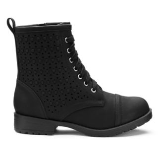 SO® Ivy Girls' Combat Boots