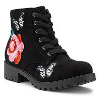 SO® Kayla Girls' Combat Boots