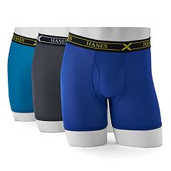 Men's Hanes 3-pack Ultimate X-Temp Air Boxer Briefs