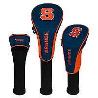 Team Effort Syracuse Orange 3-Piece Club Head Cover Set