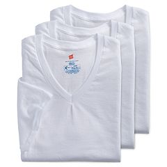 Men's Hanes 3-pack Ultimate X-Temp V-neck Tees