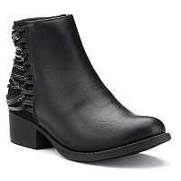 SO® Whitney Girls' Ankle Boots