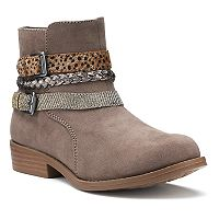 SO® Blaine Girls' Ankle Boots