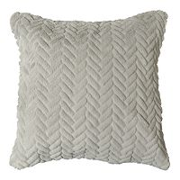 Spencer Home Decor Toby Faux Fur Throw Pillow