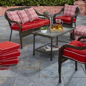 Terrasol Outdoor Elite Settee Cushion