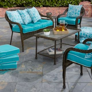 Terrasol Outdoor Solid Dining Chair Cushion