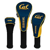 Team Effort Cal Golden Bears 3-Piece Club Head Cover Set