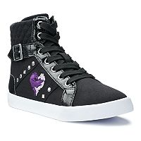 Disney D-Signed Descendants Mal Girls' High Top Sneakers
