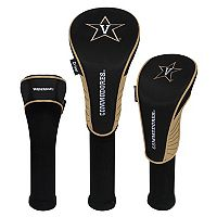 Team Effort Vanderbilt Commodores 3 pc Club Head Cover Set