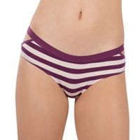 Juniors' Lemon & Bloom Elastic Cutout Hipster Panty LBF17104