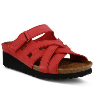 Spring Step Sabra Women's Wedge Footbed Sandals