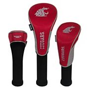 Team Effort Washington State Cougars 3 pc Club Head Cover Set