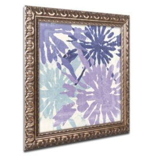 Trademark Fine Art Blue Curry II Ornate Framed Wall Art