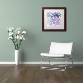 Trademark Fine Art Blue Curry II Traditional Framed Wall Art
