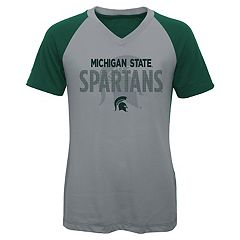 Girls 7-16 Michigan State Spartans Decoder Tee