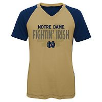 Girls 7-16 Notre Dame Fighting Irish Decoder Tee