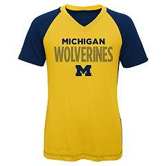 Girls 7-16 Michigan Wolverines Decoder Tee