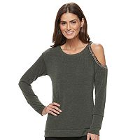 Women's Jennifer Lopez Cold-Shoulder Top