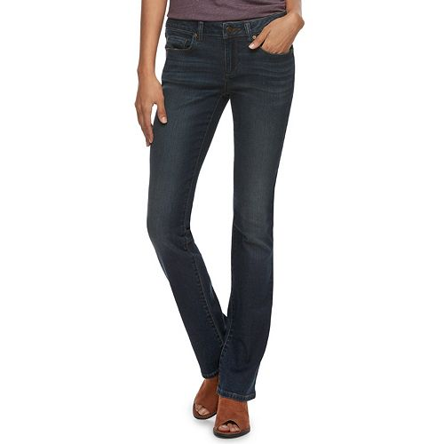Women's Sonoma Goods For Life™ Midrise Bootcut Jeans by Sonoma Goods For Life