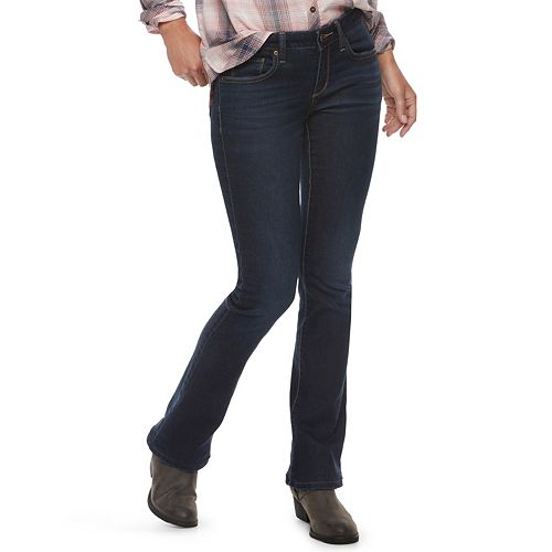 Women's SONOMA Goods for Life® Midrise Bootcut Jeans
