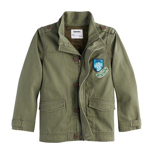 Boys 4-7x SONOMA Goods for Life™ Twill Jacket