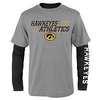 Boys 8-20 Iowa Hawkeyes United Tee Set