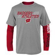 Boys 8-20 Wisconsin Badgers United Tee Set