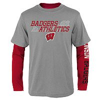 Boys 8-20 Wisconsin Badgers United Tee Set