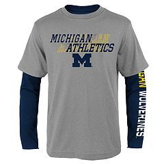 Boys 8-20 Michigan Wolverines United Tee Set