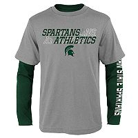 Boys 8-20 Michigan State Spartans United Tee Set
