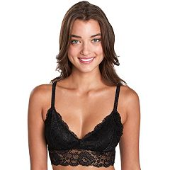 Junior's Candie's Wirefree Lace Bralette