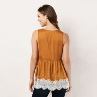 Women's LC Lauren Conrad Lace Tunic