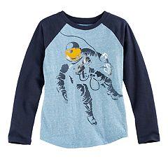 Boys 4-7x SONOMA Goods for Life™ Raglan Slubbed Graphic Tee