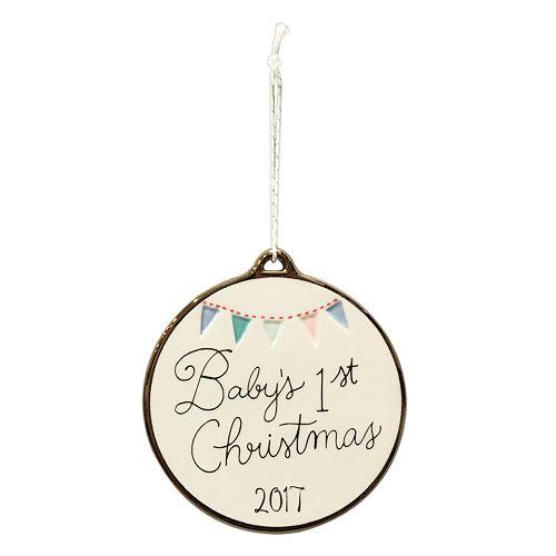 "LC Lauren Conrad ""Baby's 1st"" Christmas Ornament"
