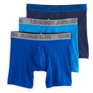 Men's Under Armour 3-pack Charged Cotton® Stretch 6? Boxerjock® Boxer Briefs