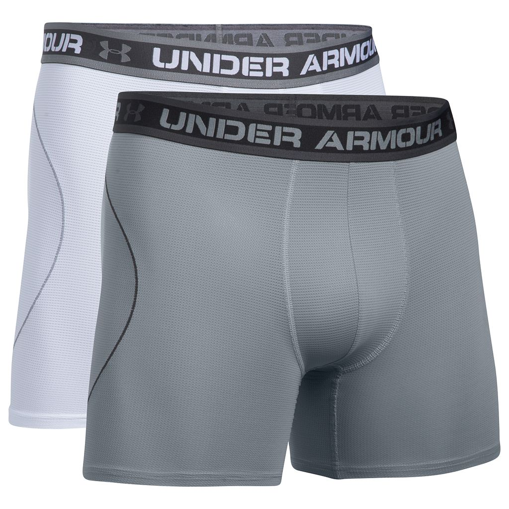 Men's Under Armour 2-pack Iso-Chill 6-inch Boxerjock Boxer Briefs