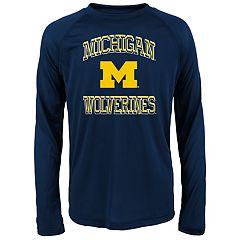 Boys 8-20 Michigan Wolverines Gridiron Hero Tee