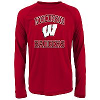 Boys 8-20 Wisconsin Badgers Gridiron Hero Tee