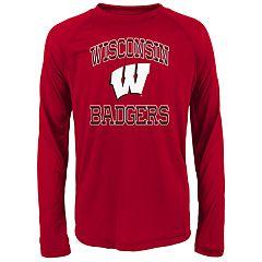 Boys 8-20 Wisconsin Badgers Gridiron Hero Tee
