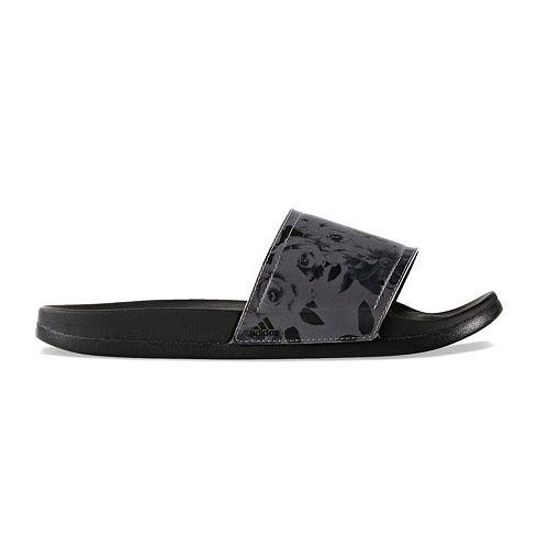 adidas Adilette Cloudfoam Print Women's Slide Sandals