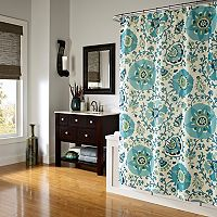 M. Style Medallions Shower Curtain
