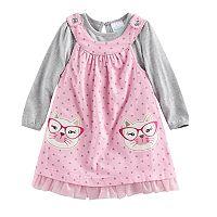 Baby Girl Nannette Cat Jumper & Bodysuit Set
