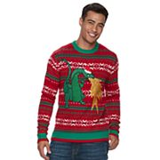 Men's Dragon Ugly Christmas Sweater