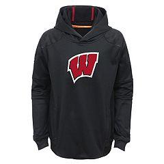 Boys 4-7 Wisconsin Badgers Mach Pullover Hoodie