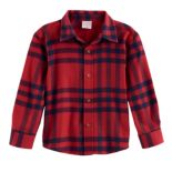 Baby Boy Jumping Beans® Plaid Flannel Button Down Top