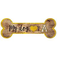 Appalachian State Mountaineers Dog Bone Wall Sign