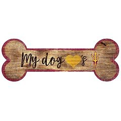 Arizona State Sun Devils Dog Bone Wall Sign